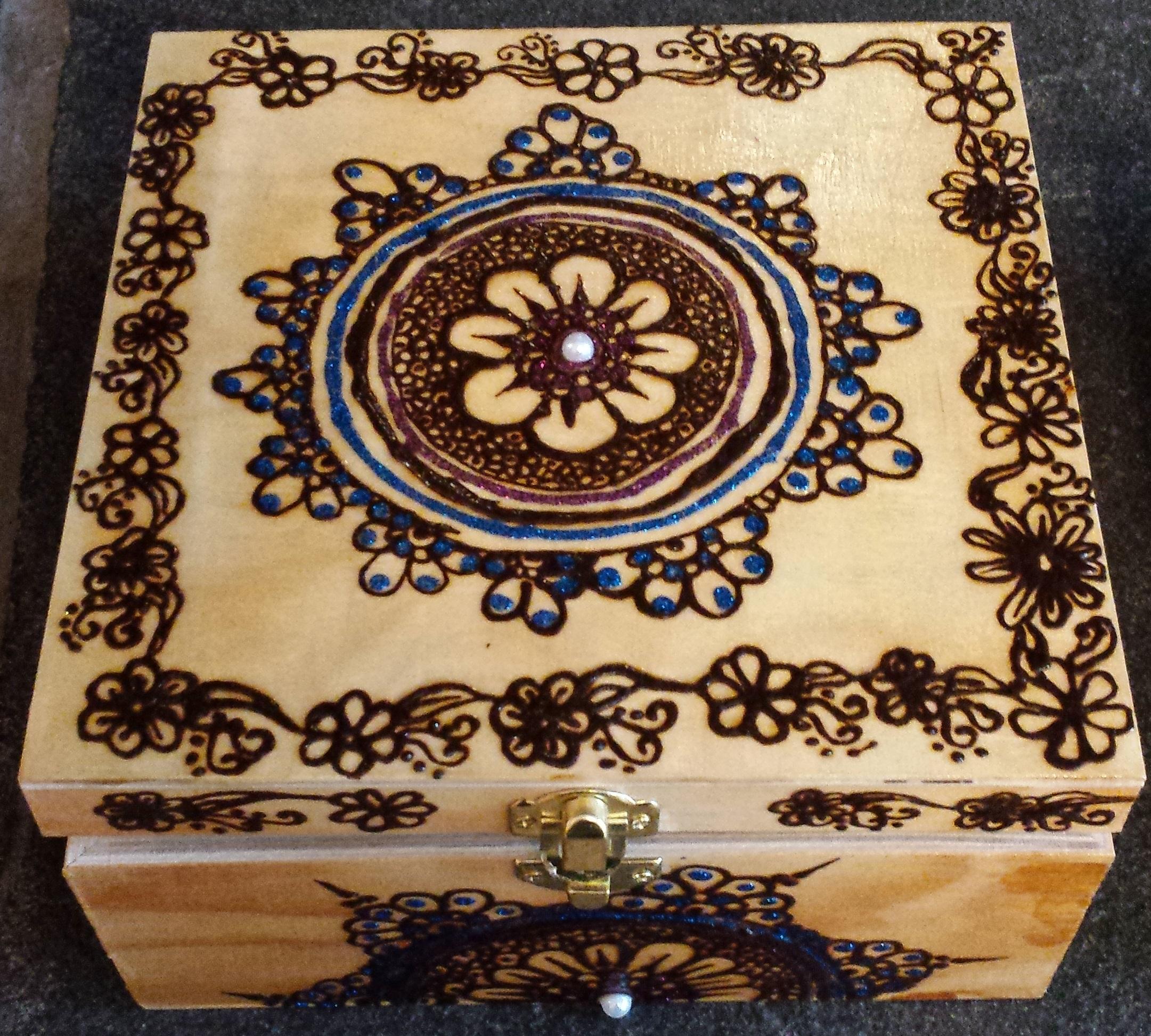 Henna Box - Blue