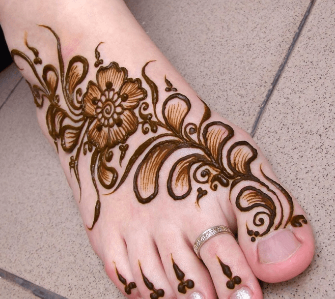 Feet Henna Designs Designer Henna Shop