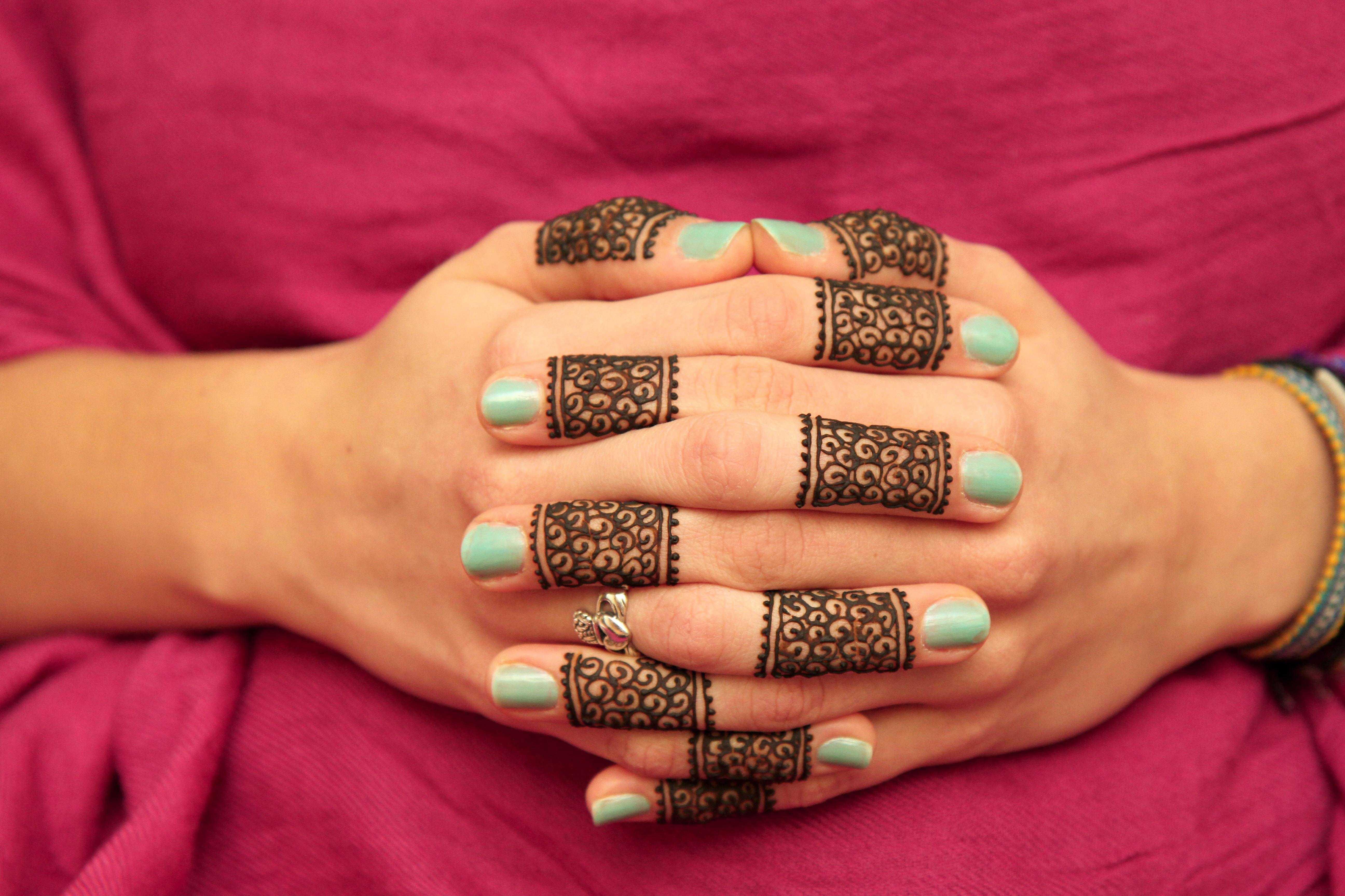Fingers Only Designs Designer Henna Shop